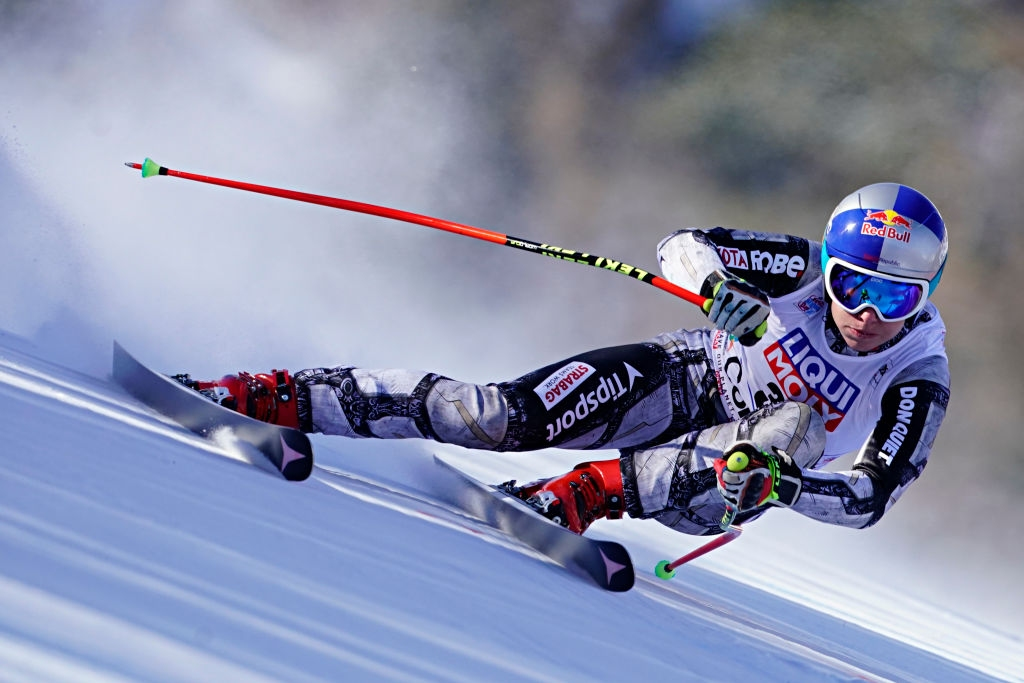 Снимка: Ледецка взе първото спускане за сезона с историческо постижение