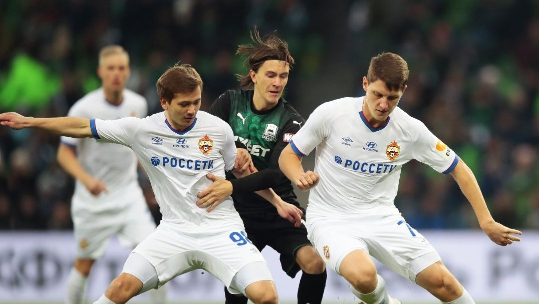 Краснодар ще зимува на второто място в руската Премиер лига,