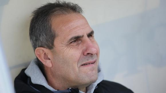 Наставникът на Берое Димитър Димитров похвали днес старанието на играчите
