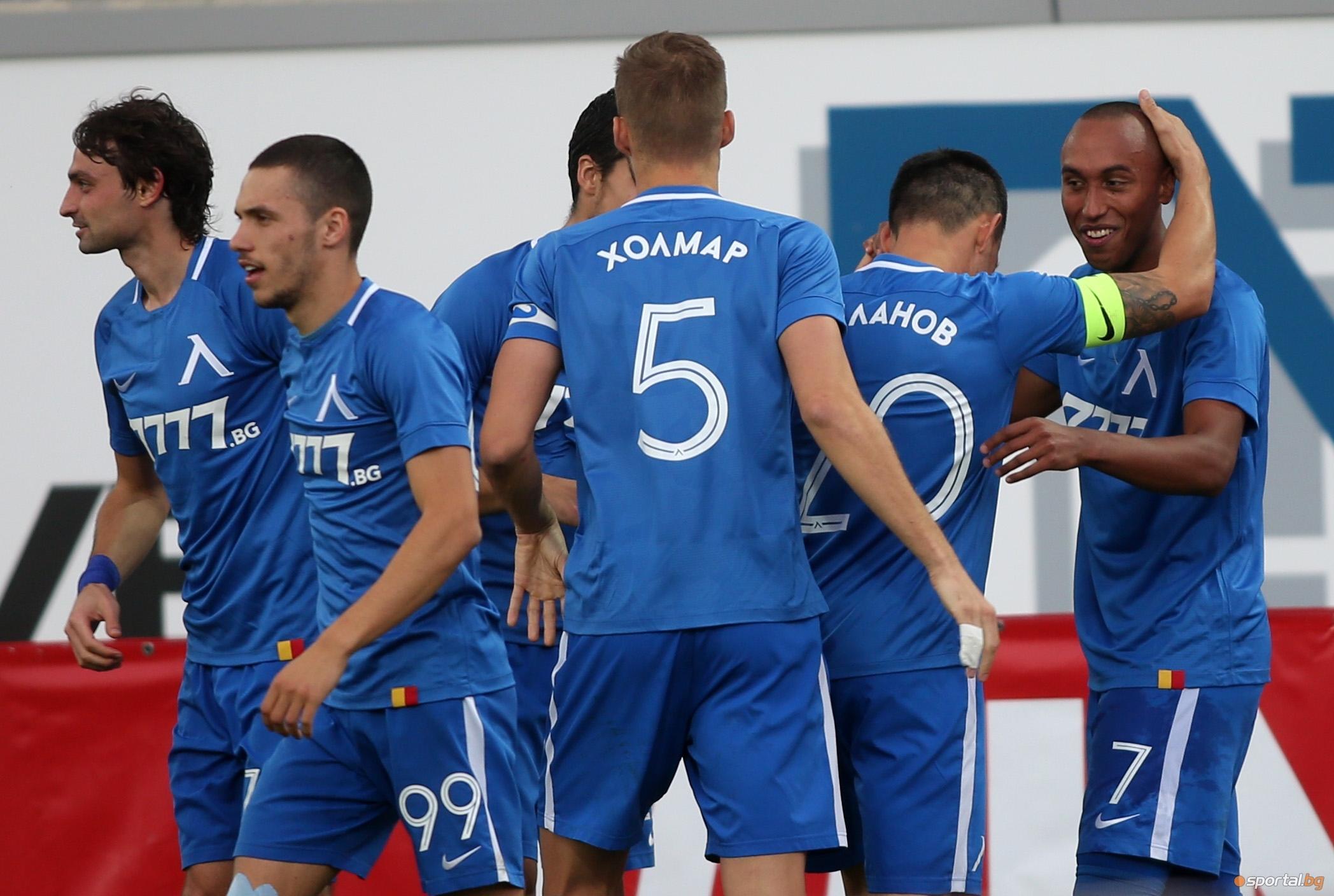 Вчера Лудогорец не успя да победи Черно море (1:1) и