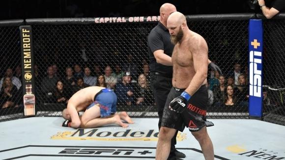Щефан Струву се би срещу Бен Ротуел в UFC Вашингтон