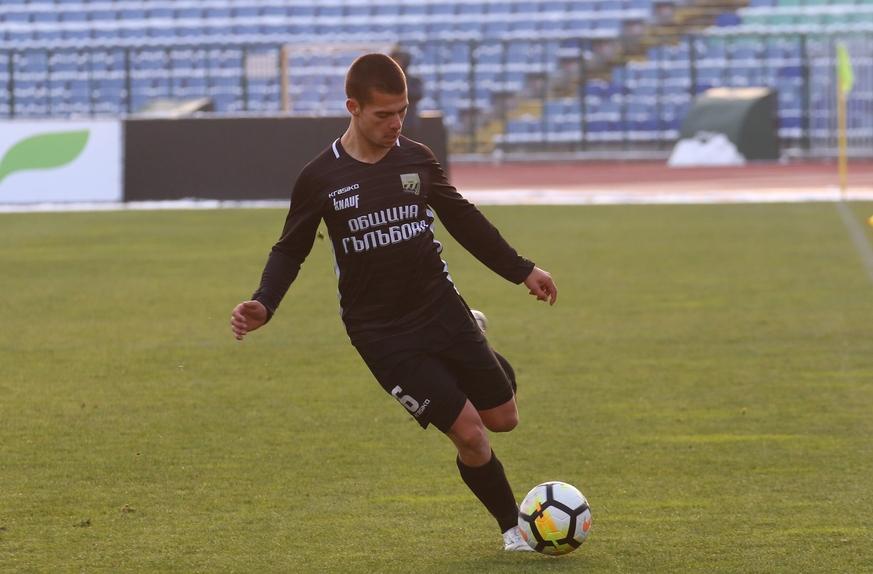 Отборът на Ботев (Гълъбово) победи с 1:0 Лудогорец II в