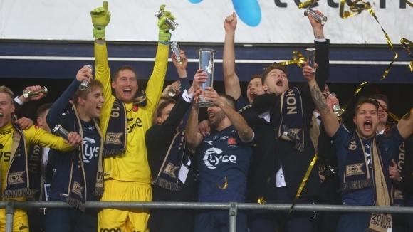 Отборът на Викинг (Ставангер) спечели с 1:0 финала за купата