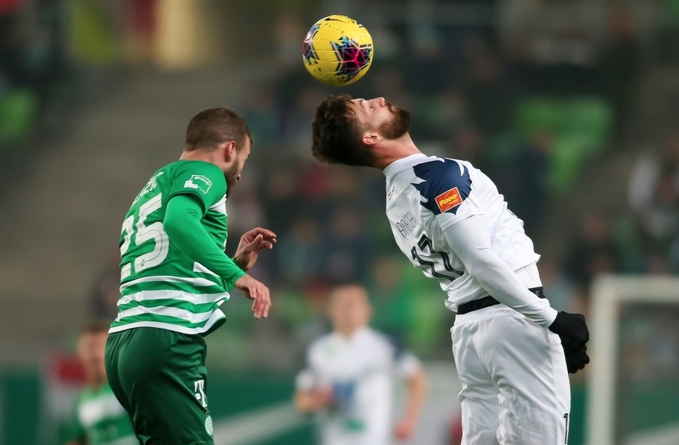 Отборът на Ференцварош изпусна аванс от 2:0 при домакинството си