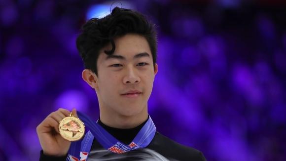 Световният шампион Нейтън Чен (САЩ) триумфира за трети пореден сезон