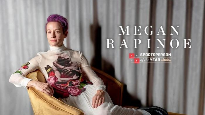 Нападателката на националния отбор на САЩ по футбол Меган Рапино