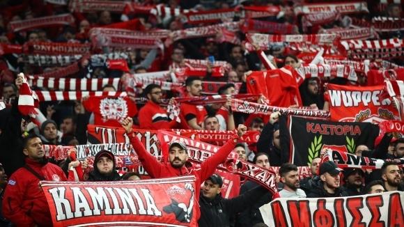 УЕФА наказа младежкия отбор на Олимпиакос с един мач пред