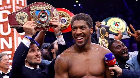 Световният шампион в тежка категория по бокс Антъни Джошуа изрази