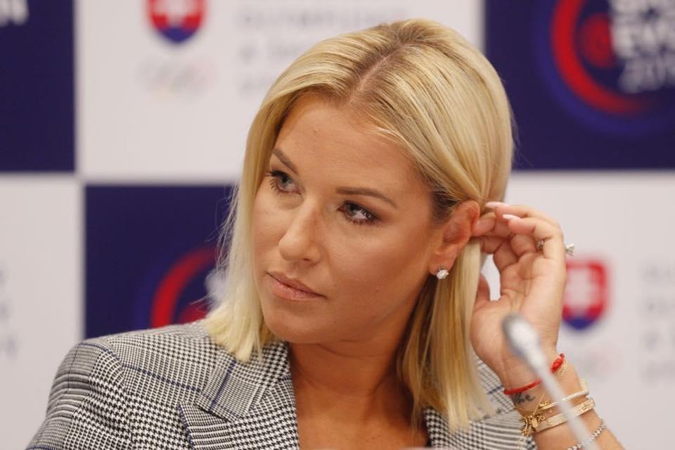 Сложилата през ноември край на професионалната си тенис кариера словачка
