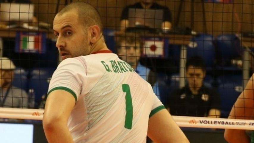 Волейболистът на Хебър Пазарджик Георги Братоев беше гост в предаването