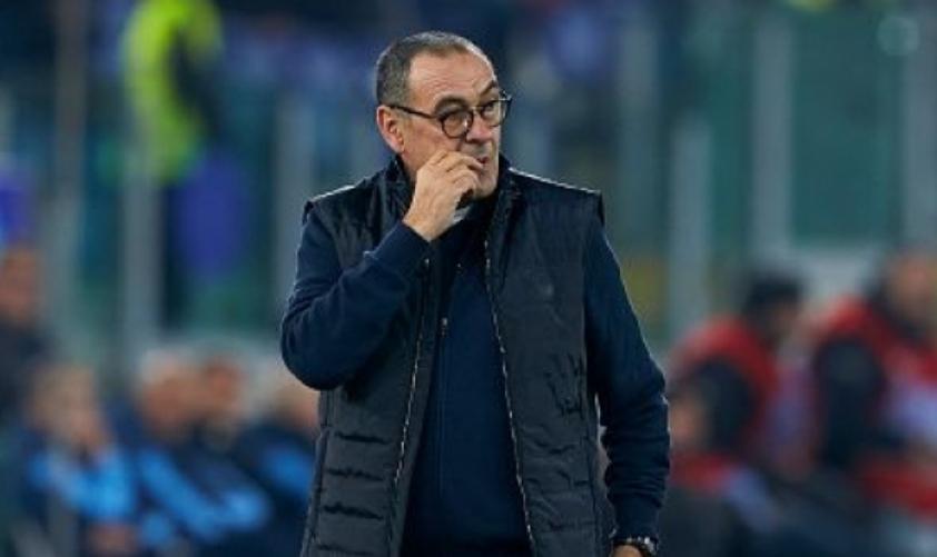 Треньорът на Ювентус Маурицио Сари се пошегува, че ще убие