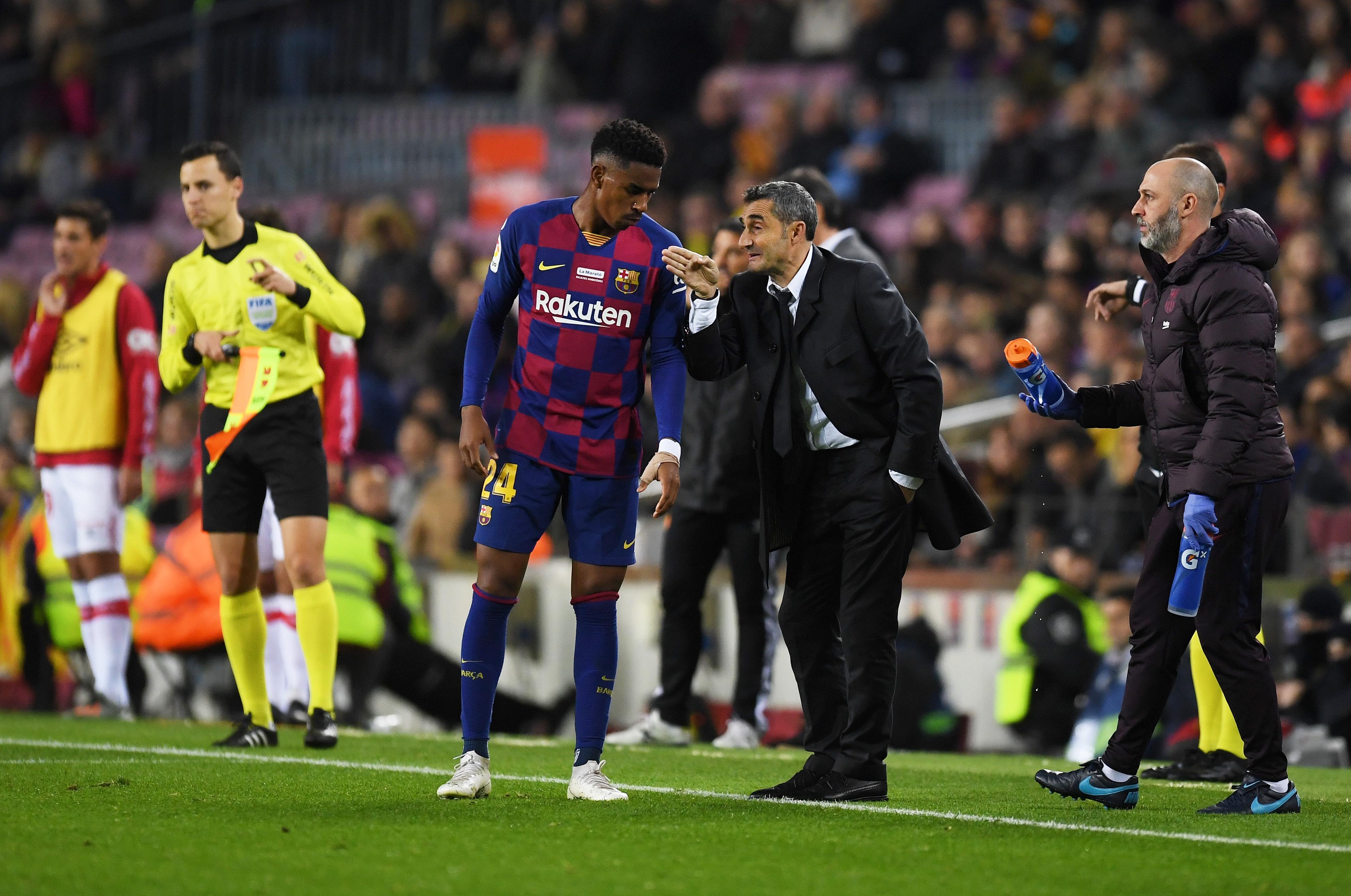 Треньорът на Барселона Ернесто Валверде показа сериозни амбиции след успеха