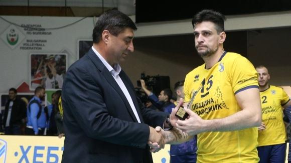 Част от клубовете, членове на БФВолейбол, издигнаха кандидатурата на вицепрезидента