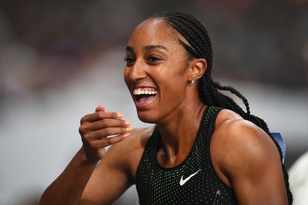 Олимпийската шампионка на 100 метра с препятствия Бриана МакНийл и