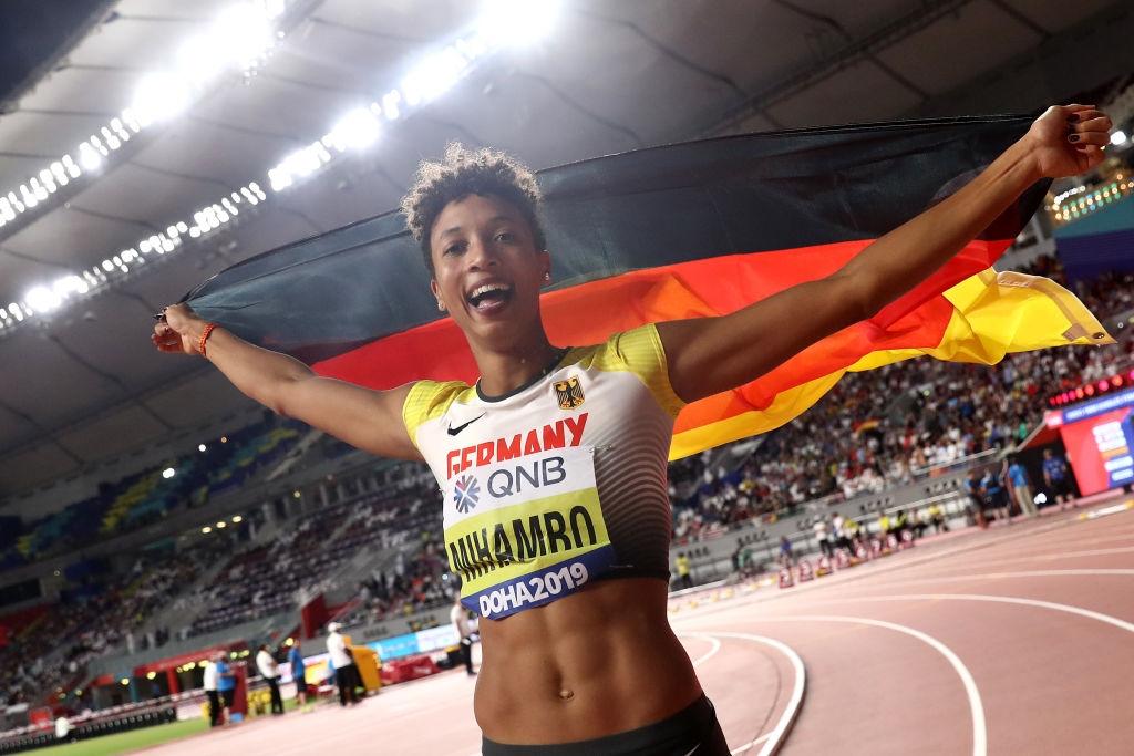 Действащата световна и европейска шампионка в скока на дължина Малайка