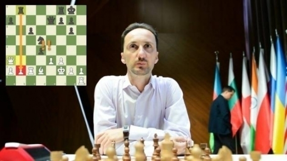 Българският гросмайстор Веселин Топалов завърши реми с черните фигури срещу