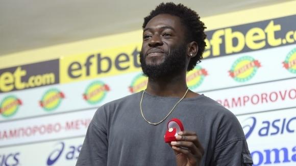Звездата на Царско село Родни Антуи получи наградата за футболист