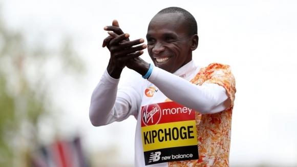 Световният рекордьор в маратона Елиуд Кипчоге се надява да участва