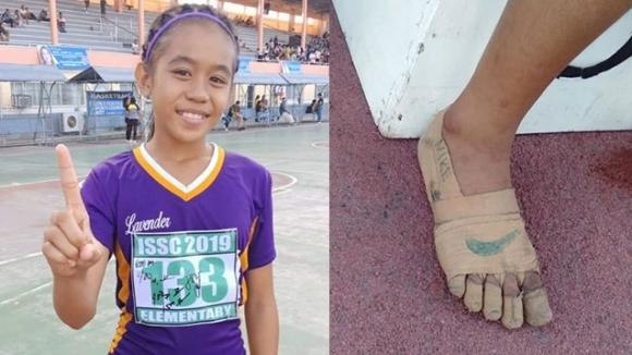 Едно малко момиченце от Филипините показа, че за таланта няма