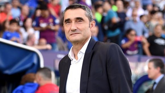 Наставникът на Барселона Ернесто Валверде отказа да коментира ситуацията с