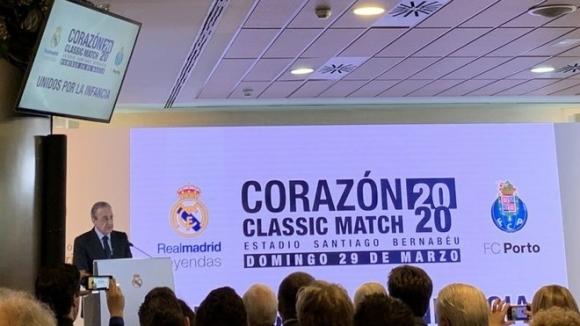 Президентът на Реал Мадрид Флорентино Перес говори за бившия вратар