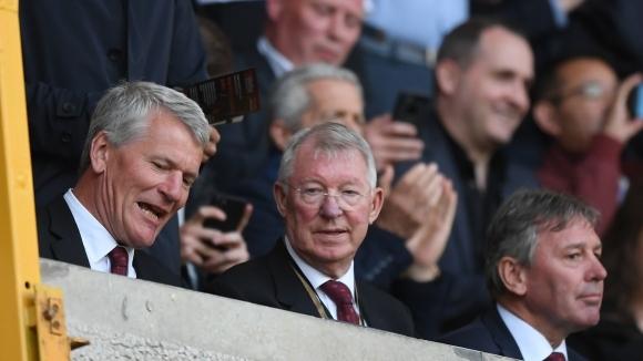 Легендарният мениджър на Манчестър Юнайтед сър Алекс Фъргюсън се обяви