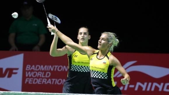 Сестрите Габриела и Стефани Стоеви се класираха за полуфиналите на