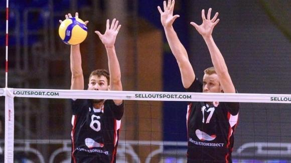 Волейболният национал Розалин Пенчев и неговият Белогорие (Белгород) успяха да