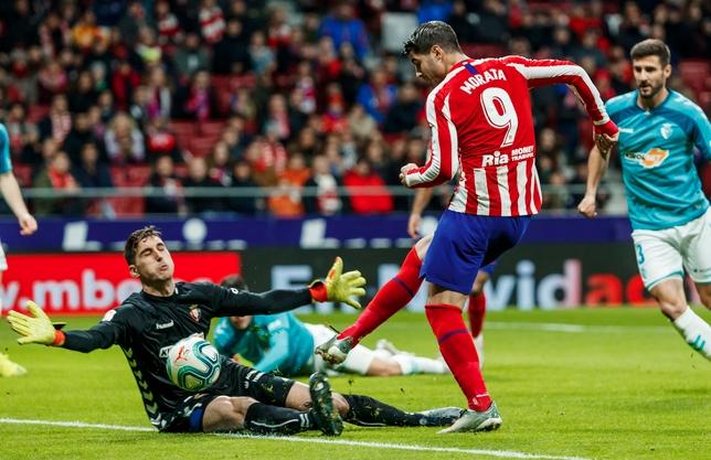 Отборът на Атлетико (Мадрид) постигна първа победа в Примера дивисион