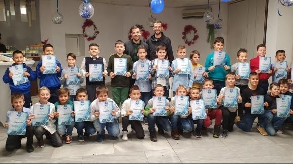 200 деца от ФК Кюстендил изпратиха едина успешна година на