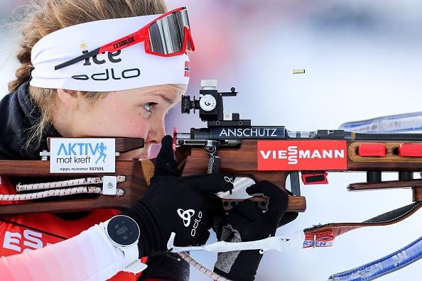 Норвежката Тирил Екхоф постигна първата си победата в преследването на