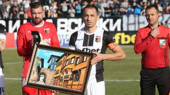 Футболистите на Локомотив (Пловдив) се сбогуваха емоционално с легендарния Георги
