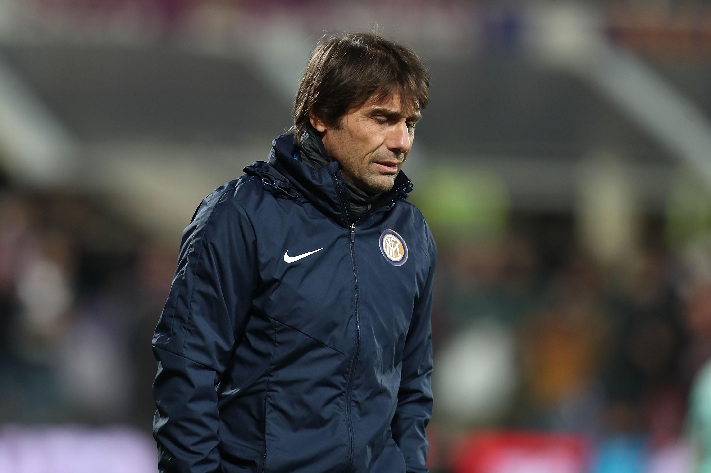 Треньорът на Интер Антонио Конте не остана доволен от равенството