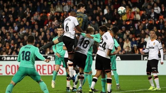 Вратарят на Реал Мадрид Тибо Куртуа говори за участието си