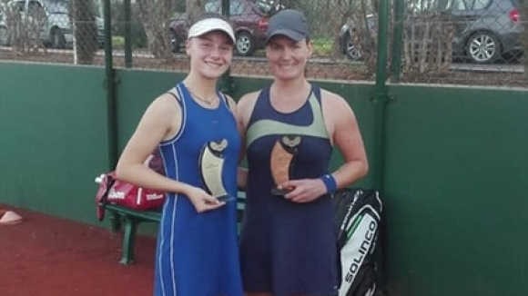 Стела Пеева спечели титлата на двойки на тенис турнира на