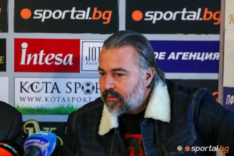 Един от бившите наставници на Левски - Ясен Петров, обяви