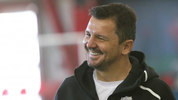Наставникът на ЦСКА-София Милош Крушчич бе част от благотворителния турнир,