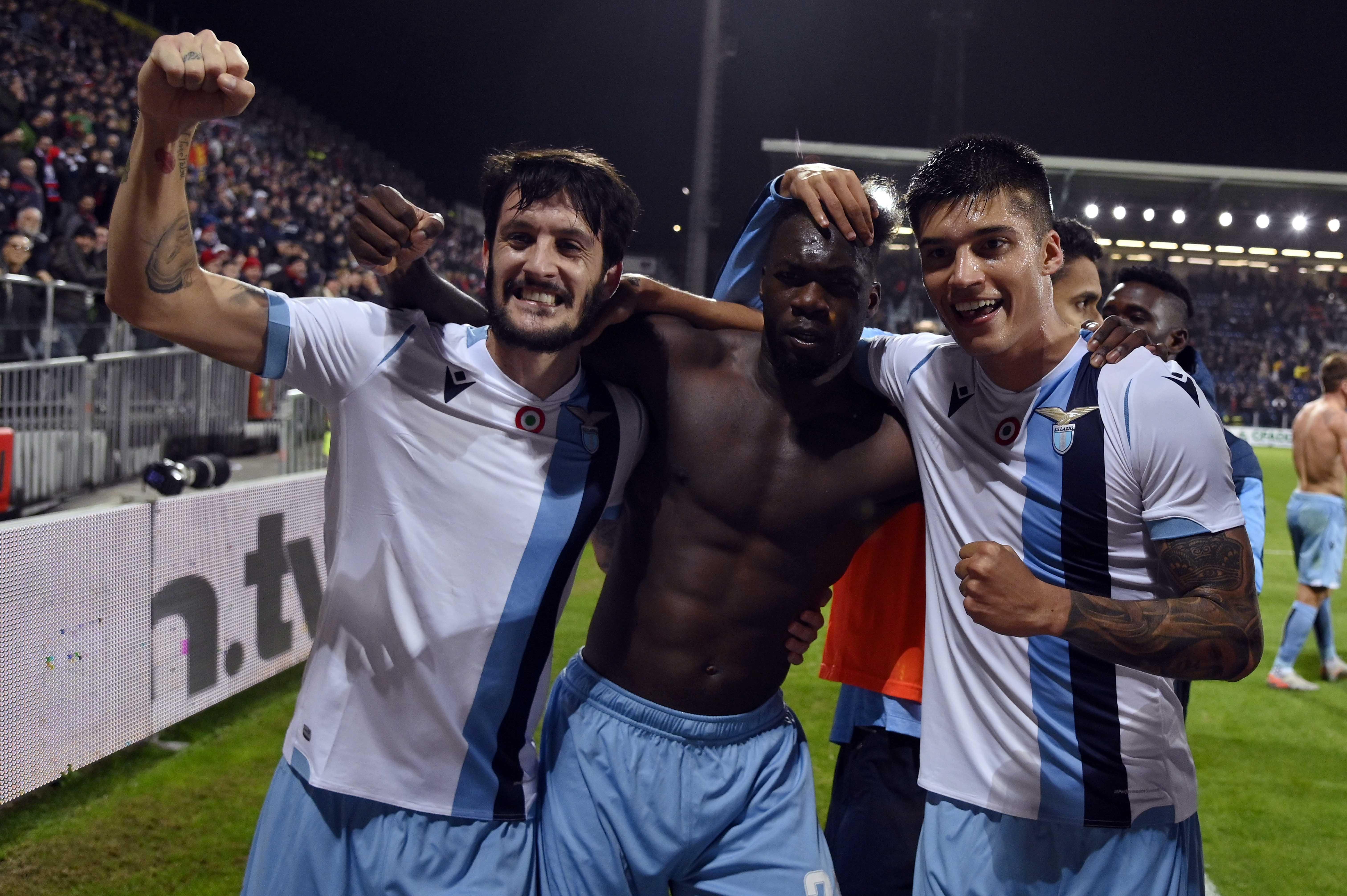 Отборът на Лацио изтръгна победата като гост на Каляри с