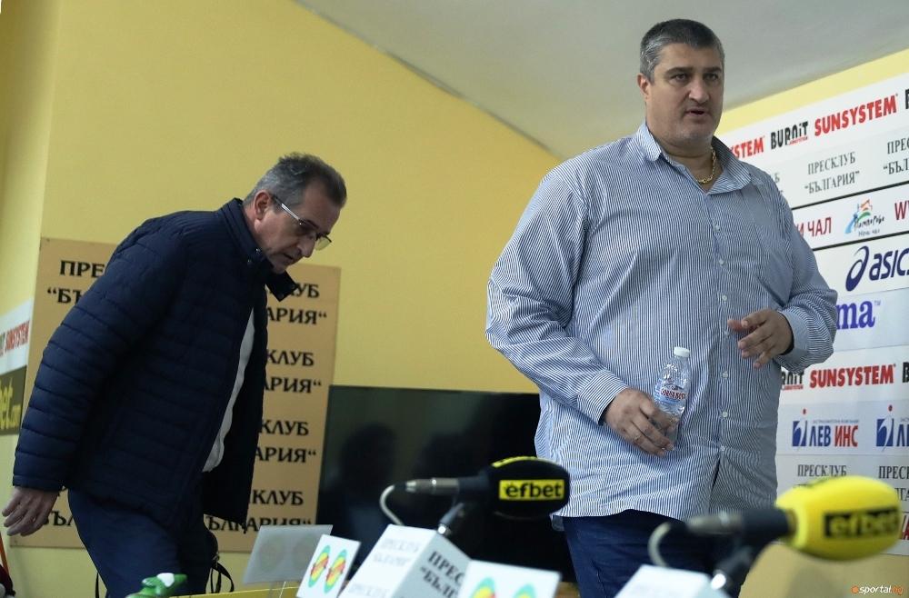 Настоящият вицепрезидент и кандидат за президент на БФВолейбол Любо Ганев
