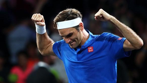 """Носителят на рекордните 20 титли от """"Големия шлем"""" Роджър Федерер,"""