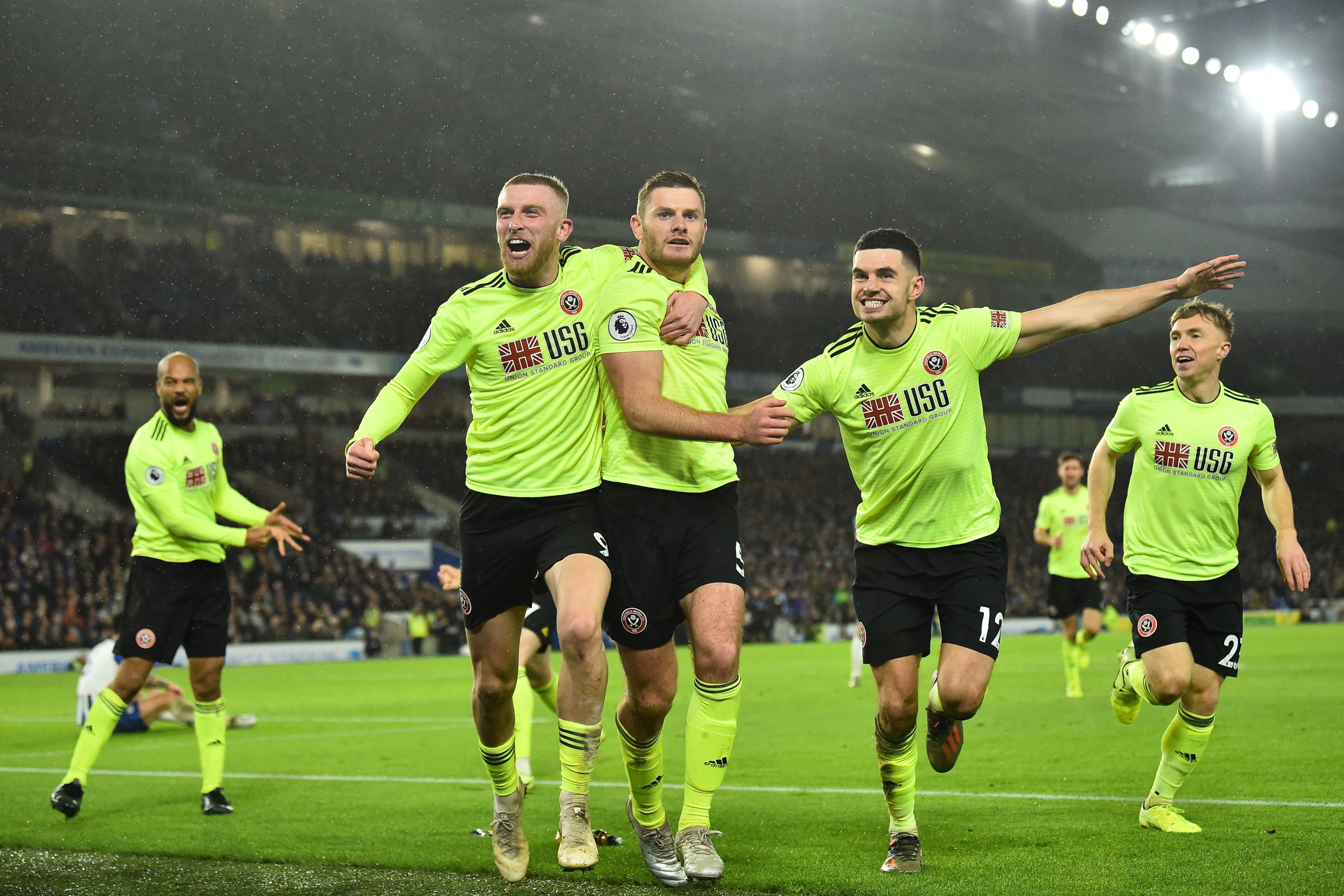 Шефилд Юнайтед постигна трета поредна победа в Премиър лийг, след