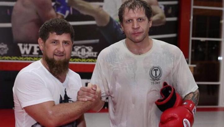 Президентът на Чечня Рамзан Кадиров е готов да се бие