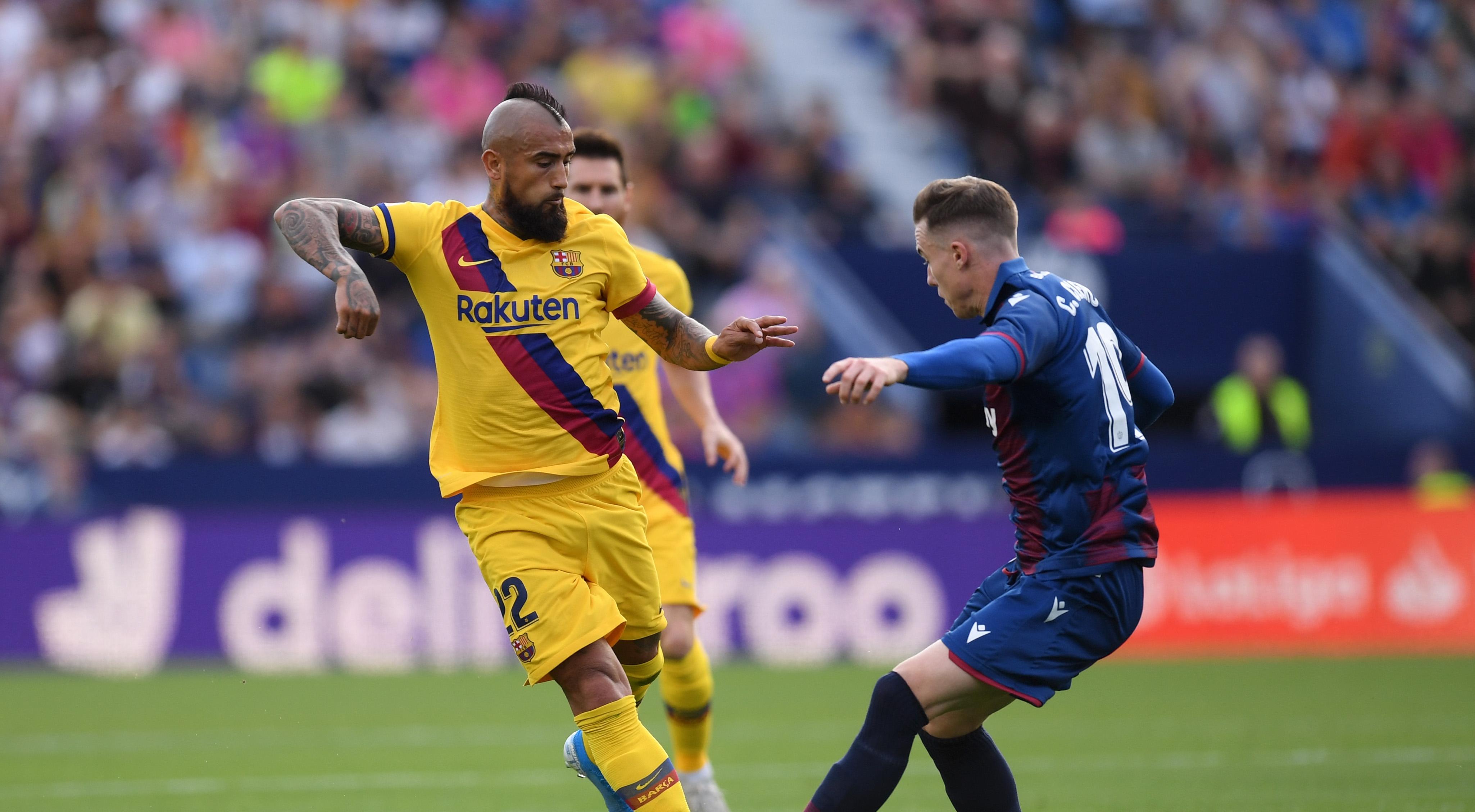 Полузащитникът на Барселона Артуро Видал потвърди за проблем между него