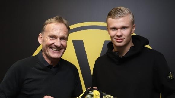 Ерлинг Холанд най-сетне има нов клуб. След като най-големите отбори