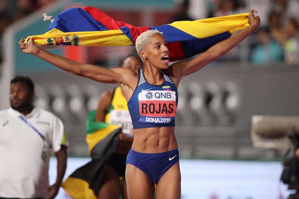 Венецуелката Юлимар Рохас е готова да постави световен рекорд в