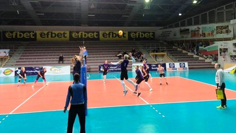 Женският национален отбор на България записа категорична победа в последната