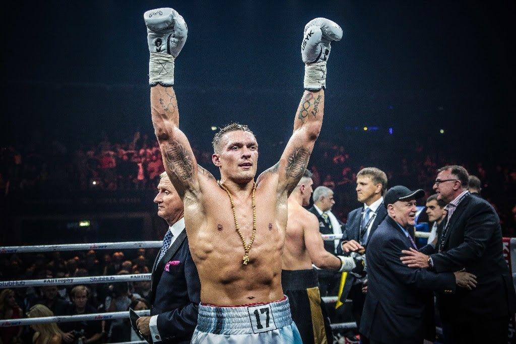 Непобеденият украински боксьор в тежка категория Александър Усик жали своите