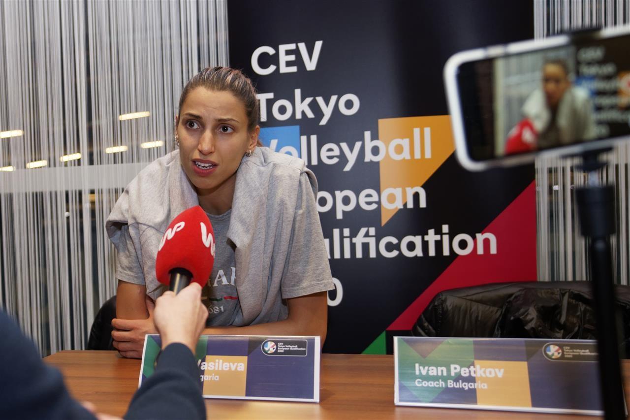 Капитанката на женския ни национален волейболен отбор Елица Василева заяви