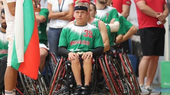 16-годишният национал на България по баскетбол на колички Цветомир Цветков