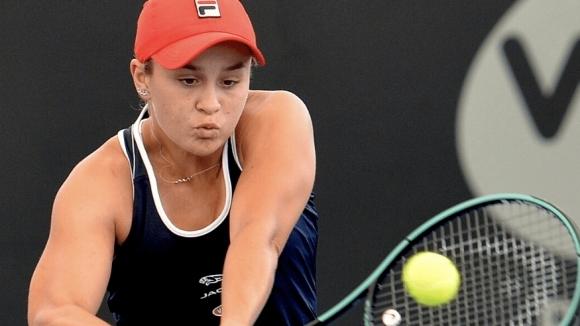 Водачката в световната ранглиста по тенис при жените Ашли Барти